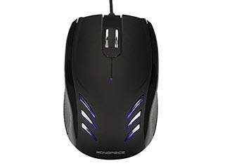 Product Image for Blu Streak 3-Button Optical Mouse - Black