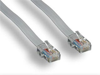 Product Image for Phone cable, RJ-45 (8P8C), Reverse - 25ft for Voice