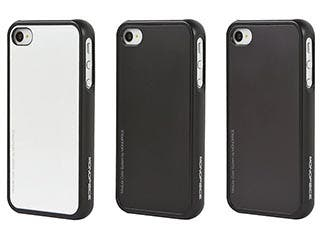 Product Image for 4 Piece Modular Color Case for iPhone® 4/4s - Black with Black, White, Gray