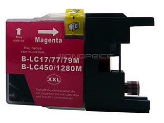 Product Image for MPI compatible Brother LC79M inkjet- magenta (Extra High Yield)