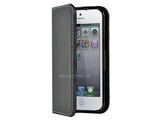 Product Image for Leatherette Stand/Cover for iPhone® 5/5s - Black