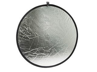Product Image for 31.5-inch Collapsible Gold/ Silver Light Reflector Disc