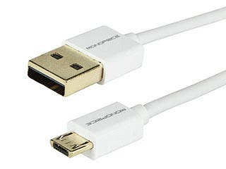 Product Image for Premium USB to Micro USB Charge & Sync Cable 6ft- White