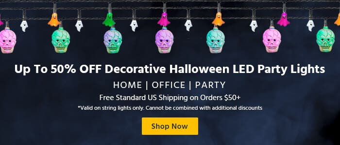 Up To 50% OFF Decorative Halloween LED Party lights