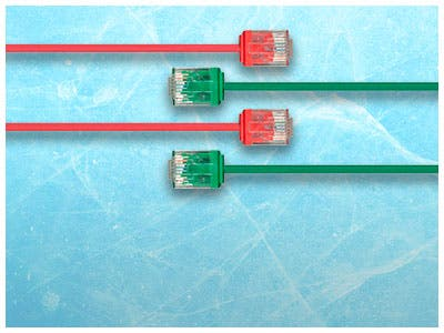 New Micro SlimRun Cat6 Ethernet Patch Cable , Available in multiple lengths & sizes! , shop now