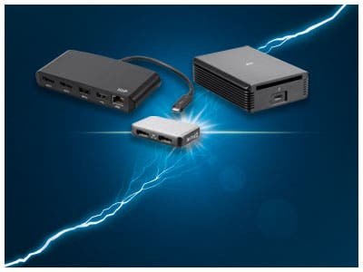 Thunderbolt 3 Adapters, Explore all the capabilities with the lightning speed of Thunderbolt 3! Shop now
