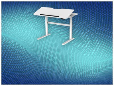 New Workstream Sit-Stand Desk  with Tilting Adjustable Top. Ergonomics at its finest! Learn more