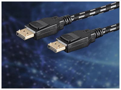 MP DisplayPort® Cables, Stay connected at all times with MP DisplayPort® 1.1, 1.2, 1.2a, & 1.4