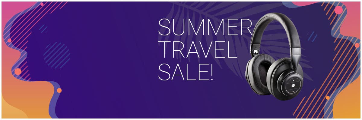 Summer Travel Sale Up To 40% Off PowerBanks | Tumblers | BT Speakers | & More!