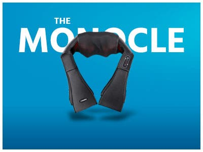 The Monocle. One Day. One Deal. One Incredibly Low Price. Naipo Shiatsu Back and Neck Massager with Heat Deep Kneading | $19.99 + Free Shipping, Ends 06/19/19 While Supplies Last