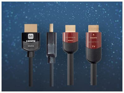 HDMI Cable Sale, Up To 15% Off Lengths ranging from 1.5 ft. up to 100 ft. Shop Now