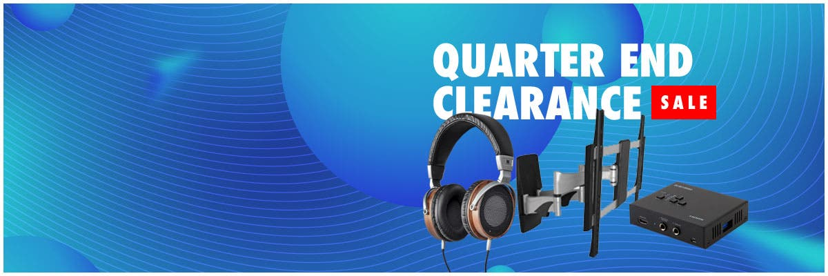 Quarter End Clearance Sale, up to 75% off, limited time offer