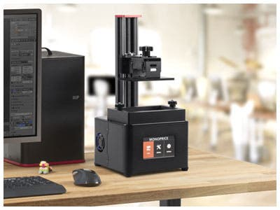 Mini Deluxe 3D Printer, High Resolution Resin 3D Printer! Up To 20 Microns!
