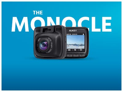 The Monocle. One Day. One Deal. One Incredibly Low Price. Dash Cam, Dashboard Camera Recorder with Full HD 1080P | $39.99 + Free Shipping, Ends 07/15/19 or  While Supplies Last