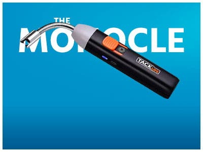 The Monocle. One Day. One Deal. One Incredibly Low Price. Tacklife Electric Arc Lighter -2600mAh-18650 Lithium-ion Battery | $7.99 + Free Shipping, Ends 07/18/19 or  While Supplies Last