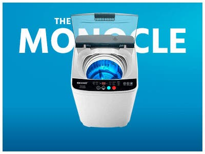 The Monocle. One Weekend. One Deal. One Incredibly Low Price. Portable Washing Machine | $169.99 + Free Standard US Shipping, Ends 07/21/19 or  While Supplies Last