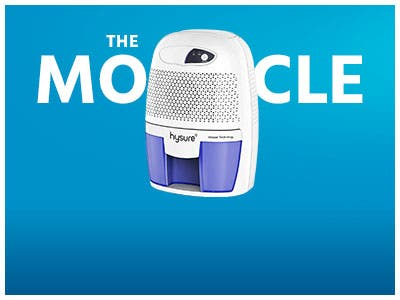 The Monocle. One Day. One Deal. One Incredibly Low Price. Hysure Portable Mini Dehumidifier | $29.99 + Free Standard US Shipping, Ends 07/22/19 or  While Supplies Last