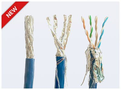 Entegrade series Cat8 UL-Certified 22AWG (Fully shielded S/FTP Solid) Bulk Bare Copper Network Cable Supports up to 40Gbps data transfer rate, 2GHz bandwidth Shop Now >