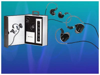 Monoprice Wired In-Ear Earphone Monitors Available Options: *Trio *- 1 Balanced Armature + 2 Dynamic Drivers  *Quartet *- 2 Balanced Armature + 2 Dynamic Driver *Quintet *- 3 Balanced Armature + 2 Dyn