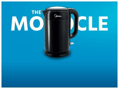 The Monocle. One Day. One Deal. One Incredibly Low Price. Midea 1.7L Safety Electric Kettle (Cool touch) $19.99 + Free Standard US Shipping Ends 08/19/19  While Supplies Last