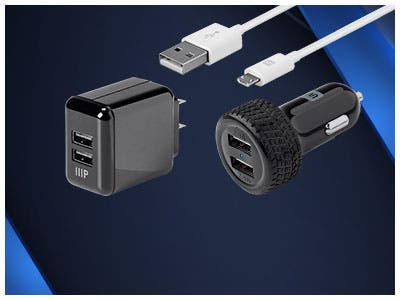 Up to 35% off  Select Series™ Cables & Chargers  Apple® MFi Certified Lightning Cables | Micro B Cables | Wall Chargers | Car Chargers | Desktop Chargers Shop Now >