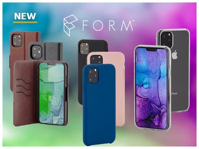 FORM iPhone Cases, Premium materials to protect your new iPhone. Soft Touch | Rugged Slim | Leather Wallet