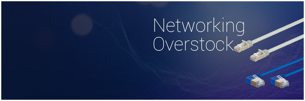 Networking Overstock, Save Up To 70% Off! Cat6 | Cat6A | Cat7| Bulk & Patch Cables | + More!