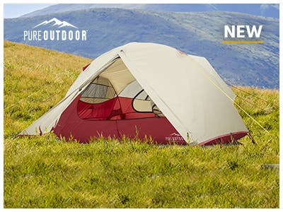 Pure Outdoor Tents, 2-4 person backpacking tents. Rugged durability, premium materials, and lightweight! Shop Now