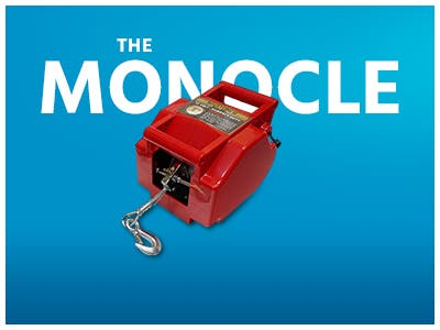 The Monocle. One Weekend. One Deal. One Incredibly Low Price. Portable 12V Auto/Boat Winch - 6000 lbs. Cap. | $69.99 + Free Standard US Shippiping, Ends 9/22/19 or While Supplies Last