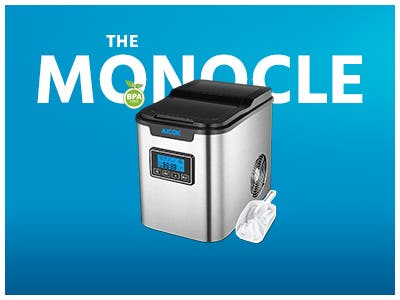 The Monocle. One Day. One Deal. One Incredibly Low Price. Aicok Portable Digital Ice Maker Machine | $69.99 + Free Standard US Shipping, Ends 9/23/19 or While Supplies Last