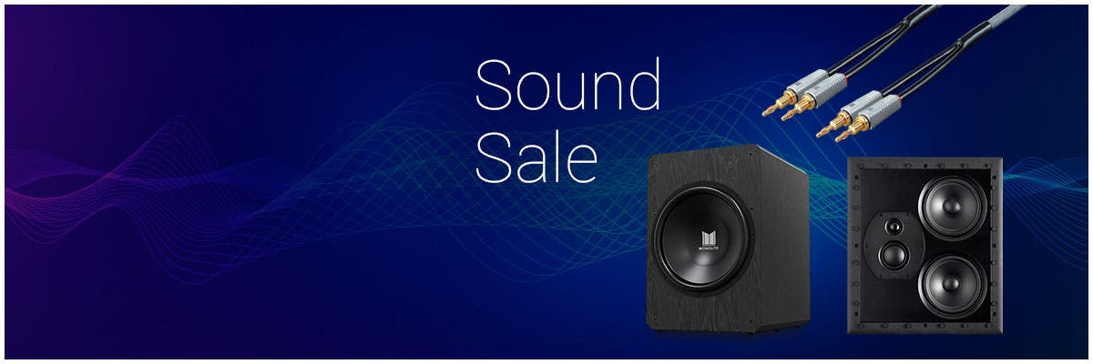 Sound Sale, Up To 30% Off: Speakers | Subwoofers | Speaker Wire | & More!