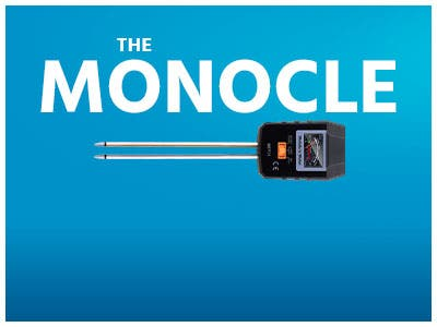 The monocle. One Day. One Deal. TACKLIFE Soil Test Kit, 3-in-1 Soil Moisture Meter $12.99 + Free Standard US Shipping, ends 11/18/19, while supplies last
