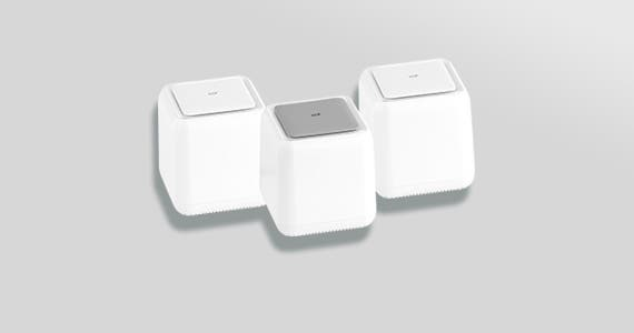 Wi-Fi System w/ Touch Link Technology 3-Unit Pack Covers Homes up to 4,500 sq. ft.