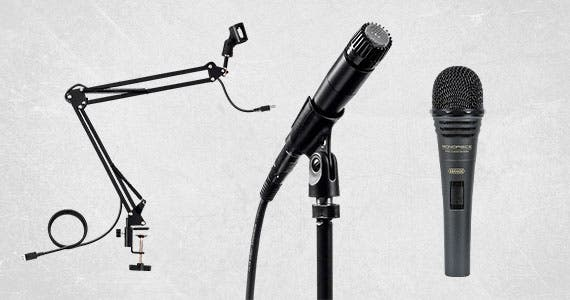 Mic Check 1-2-1-2, Up To 25% Off Microphones + Accessories! Ends 12/15/19