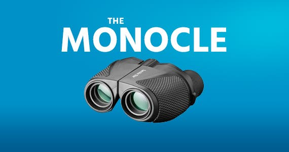 The monocle. One Day. One Deal. Twinkle Star 10 x 25 Compact High Powered Binoculars | $9.99 + Free Standard US Shipping, ends 12/12/19, while supplies last
