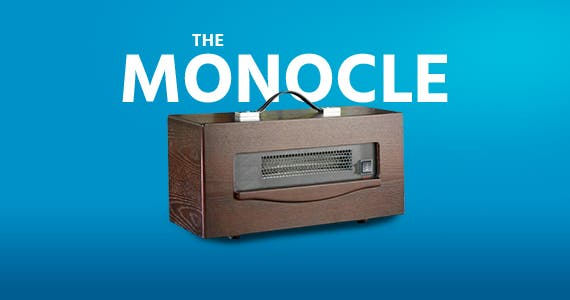 The monocle. One Weekend. One Deal. Dynamic Infrared 1,500 Watt Electric Convection Cabinet Heater | $34.99 + Free Shipping, ends 12/15/19, while supplies last
