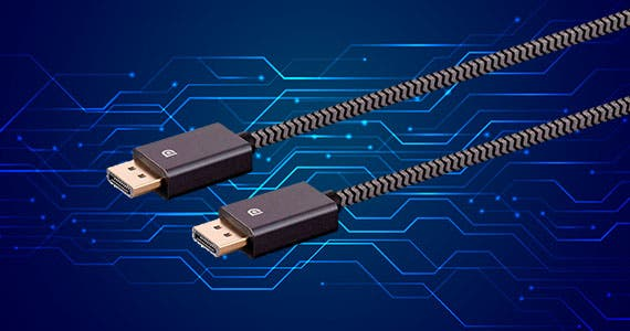 50% off DisplayPort® 1.2 EasyPlug™ Cable Support for High Bit Rate 3, Display Stream Compression 1.2, and 4K@60Hz maximum resolution.
