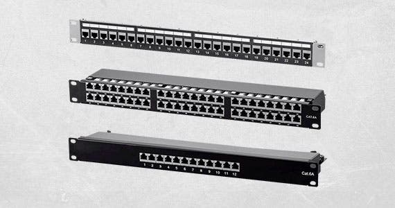 Monoprice Cat6 & Cat6A Patch Panels From 12 up to 48 Ports | Shielded & Unshielded  Shop Now