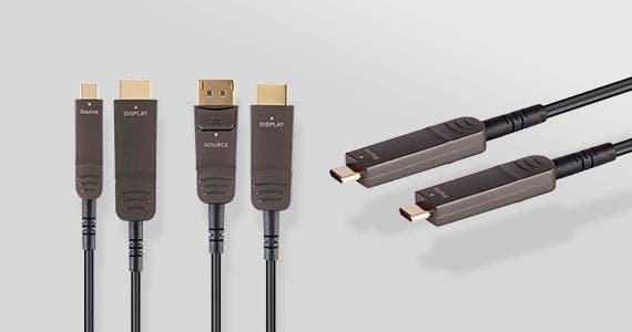 MP SlimRun™ AV Solutions, USB 3.1 | HDR DisplayPort | Multiple Lengths & Connectivity Inputs. Shop Now