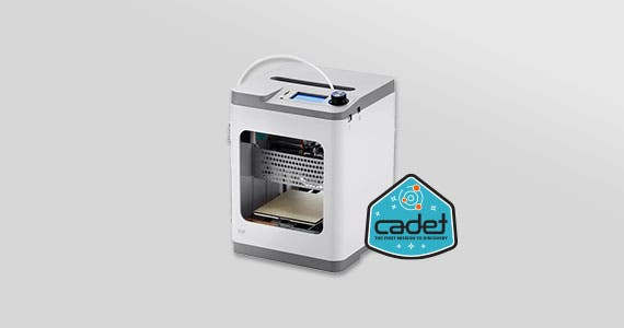 MP Cadet 3D Printer Full Auto Leveling | WiFi Capability |  Fully Assembled  Perfect for both beginners & experienced users!  Shop Now