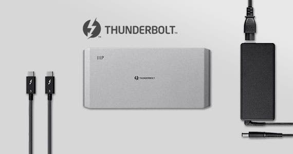 Thunderbolt 3 Dock | Dual DisplayPort® Dock | Power Delivery | Versatility | Dual 4k@60Hz