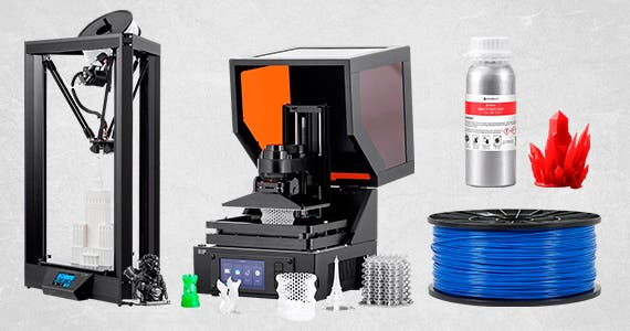 Create-It-Yourself Sale, Up to 25% Off  3D Printers | Resin Printers | Filament | Resin, Shop Now