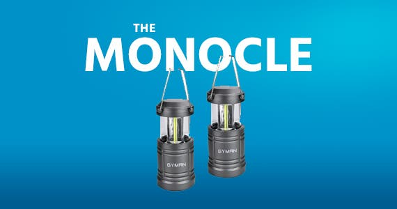 The Monocle. One Day. One Deal. GYMAN Led Collapsible Camping Lantern (2 Pack) | $9.99 + Free Standard US Shipping, while supplies last.