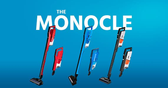 The Monocle. One Weekend. One Deal. Miss Lacy Upright Cordless Vacuum Cleaner | $49.99 + Free Standard US Shipping