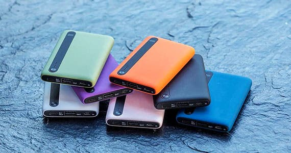 Obsidian™ Pocket Power Banks  Pocket-Perfect Size | 7 colors to fit any Style | 5,000mAh Capacity | Dual Outputs Shop Now