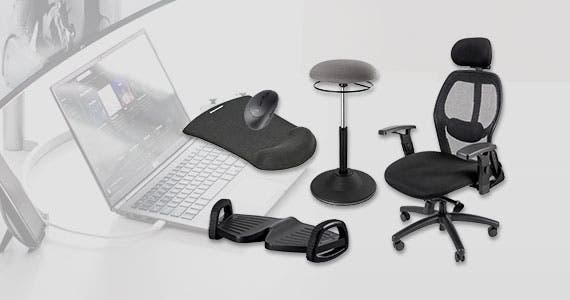Create a better office with ergonomic essentials. Fully adjustable and comfortable office gear.  Shop now