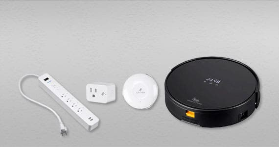 "Create a ""Touch-free"" Home  Home Automation devices from STITCH can help  Shop now"