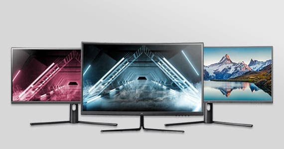 Monitors to perfectly fit your needs CrystalPro | Zero-G | Backed by the PixelPerfect(TM) Warranty