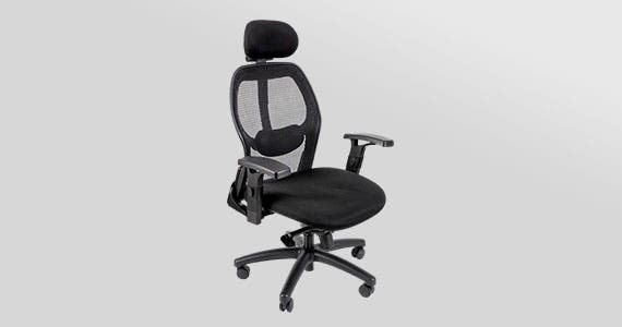 Workstream Ergonomic Office Chair with headrest  The right balance of features in a comfortable, ergonomic chair  Shop Now