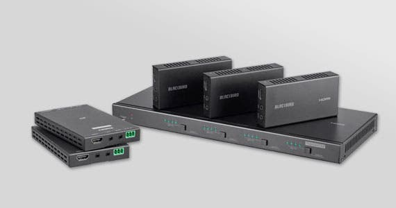 Blackbird logoHDBaseT Extender Solutions  Easily solve all your video transmission needsShop Now